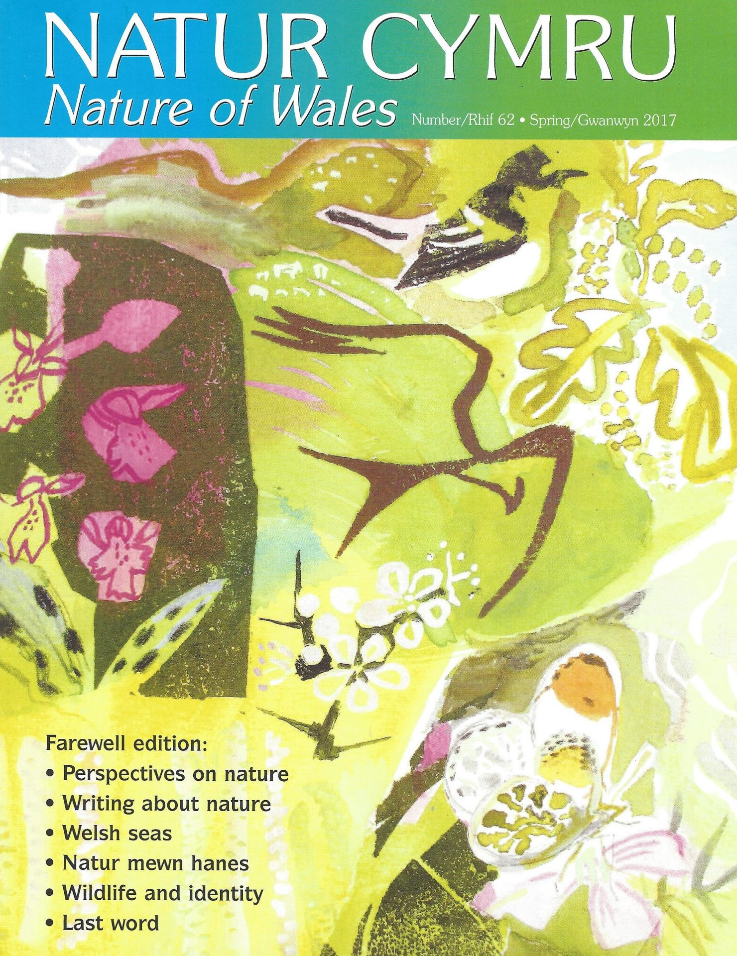Issue 62 Natur Cymru cover